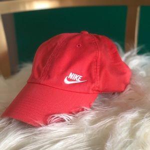 Like New Nike Salmon Cap